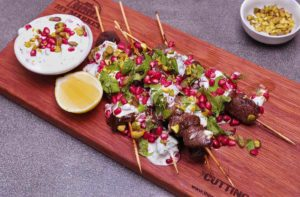 Jalna Recipe Pomegranate Lamb Skewers